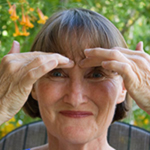 eft tapping points eyebrow point1 EFT Tapping Points   EFT Guide eft tapping basics