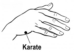 Karate 300x212 Clear Negative Thinking EFT Script advanced tapping techniques