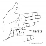 Karate Chop Point 150x150 Tapping for Pain physical issues
