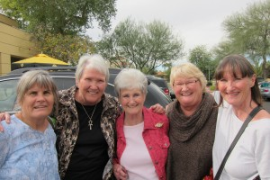 natalie hill with sisters in Phoenix, Arizona