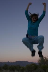 Natalie Hill jumping again